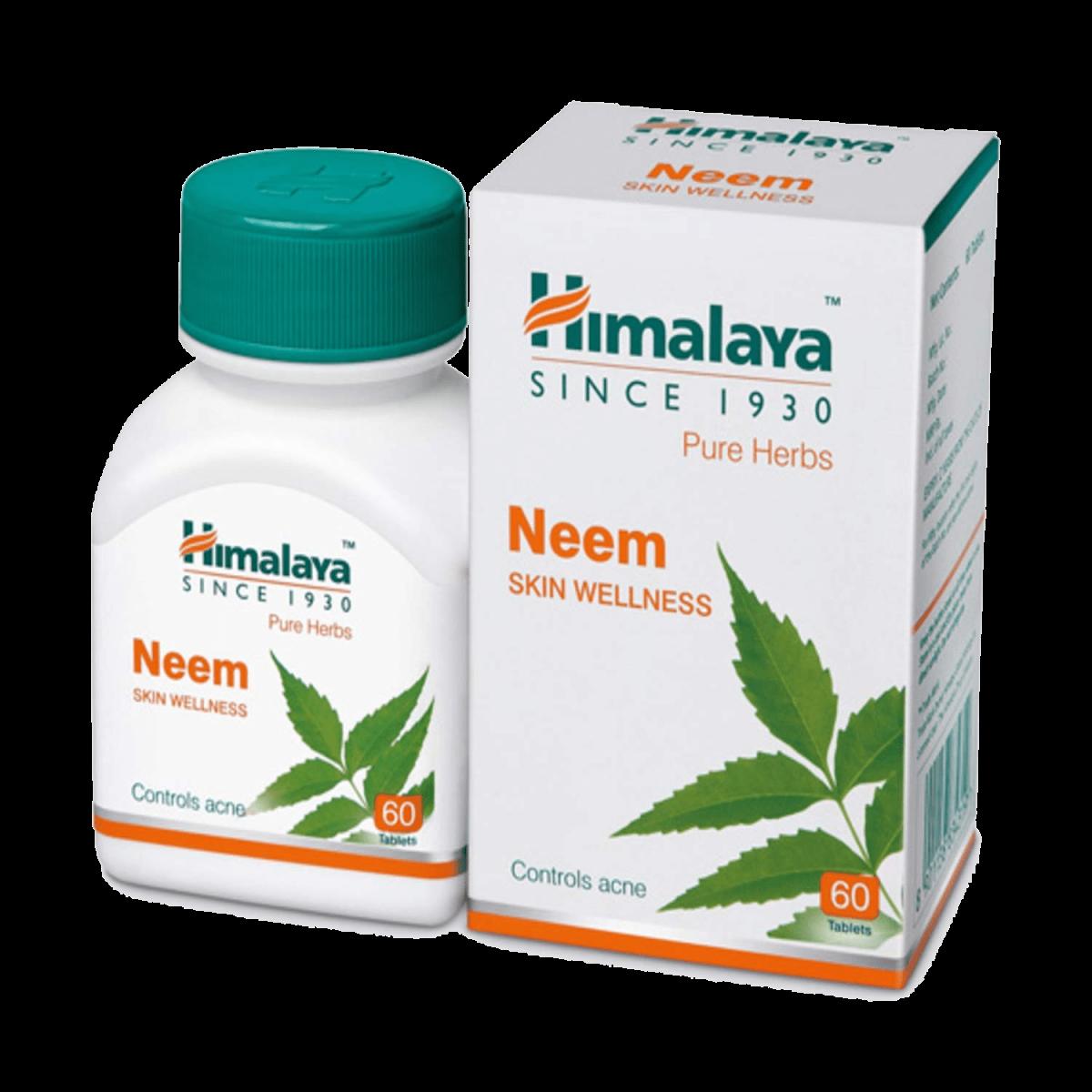 Suplemento neem himalya