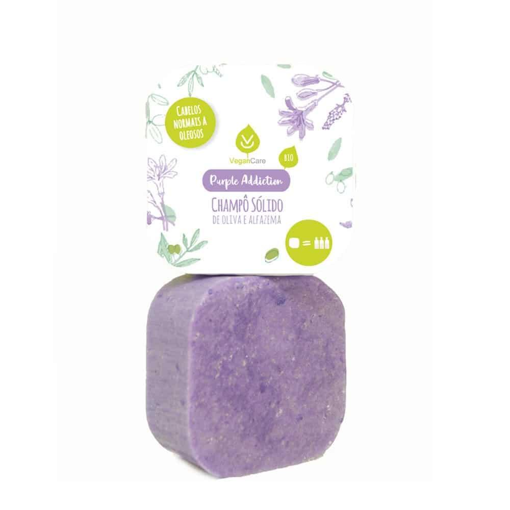 Purple Addiction Champô Sólido de Alfazema