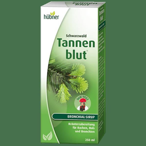 Suplemento bebível Tannenblut N para as vias respiratórias