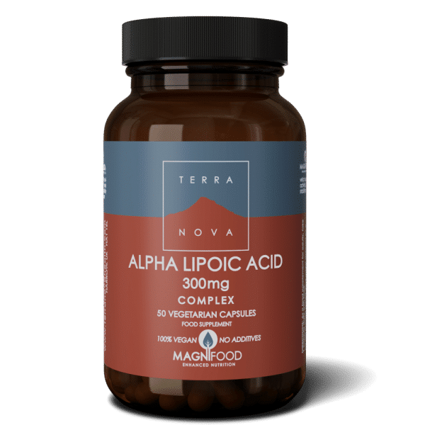 Suplemento ALPHA-LIPOIC-ACID-300mg-COMPLEX-50-wiz