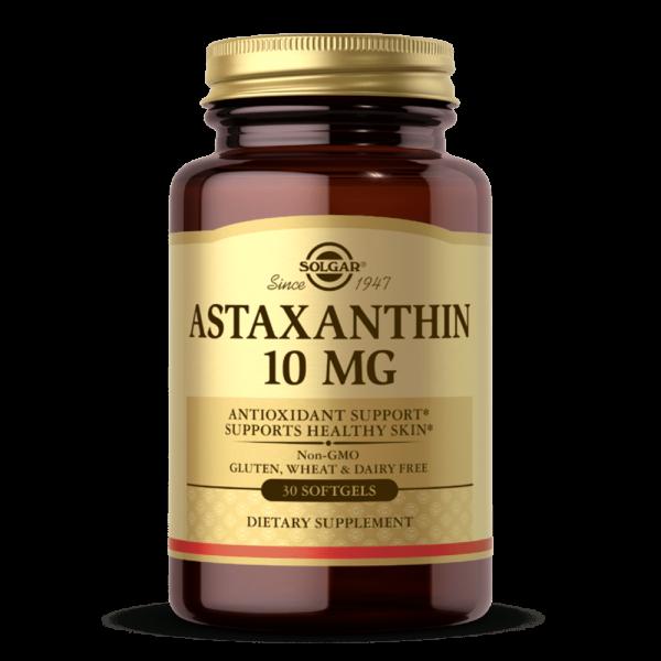 suplemento solgar ASTAXANTHIN 10 MG