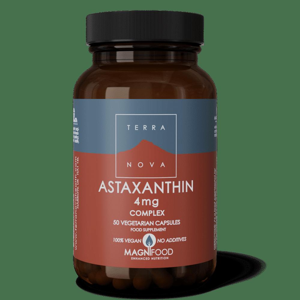 Suplemento ASTAXANTHIN-4mg-COMPLEX-50-wiz