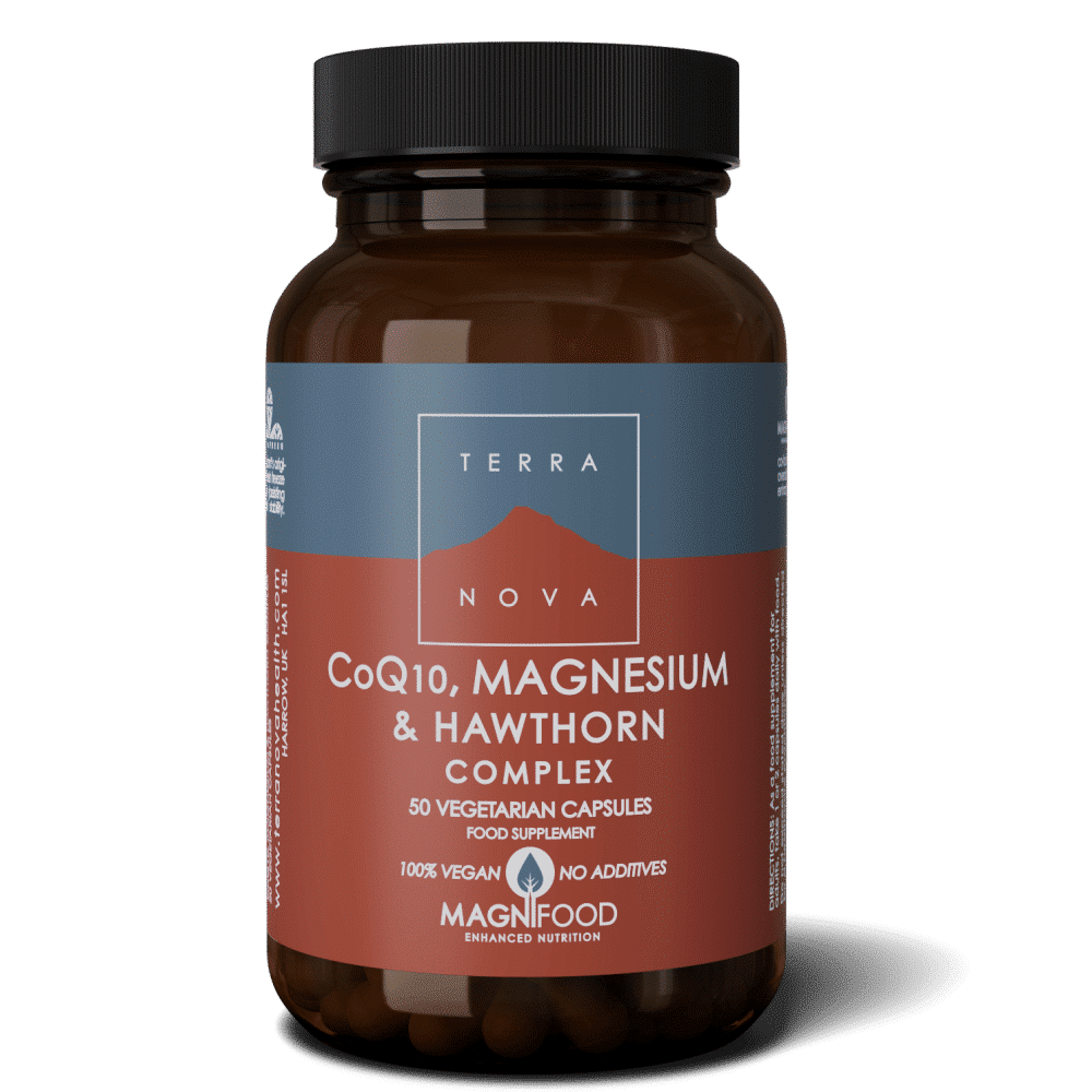 Suplemento CoQ10-MAGNESIUM-HAWTHORN-COMPLEX-50-wiz