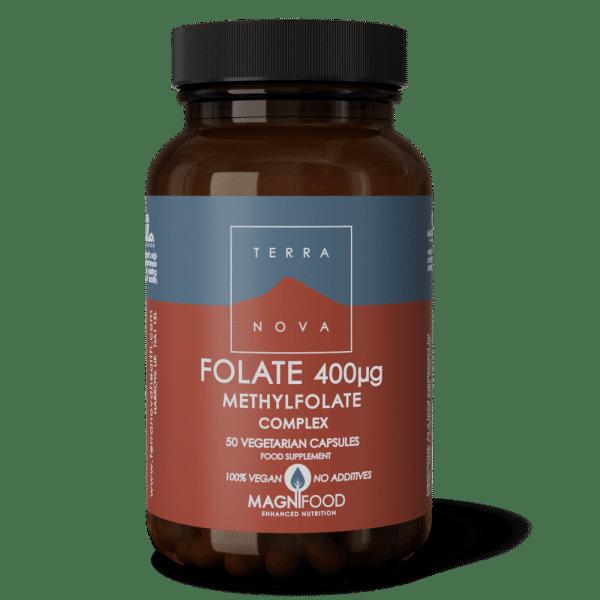 Suplemento FOLATE-400ug-COMPLEX-50-wiz