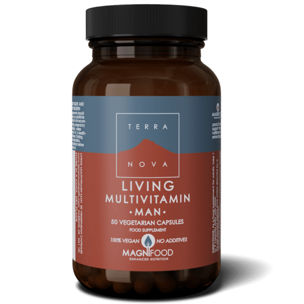Suplemento LIVING-MULTIVITAMIN-MAN-50-wiz