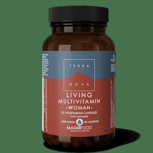 Suplemento LIVING-MULTIVITAMIN-WOMAN-50-wiz