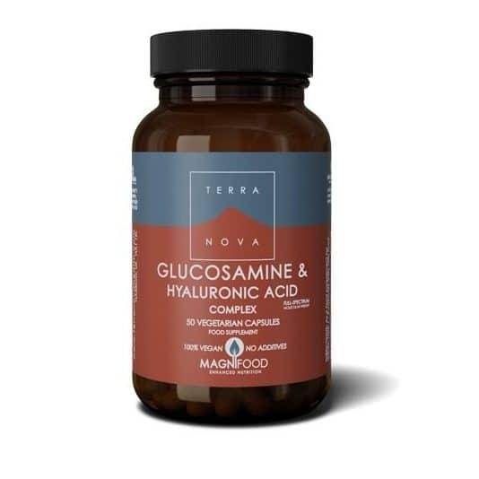Suplemento complexo-de-glucosamina-e-acido-hialuronico