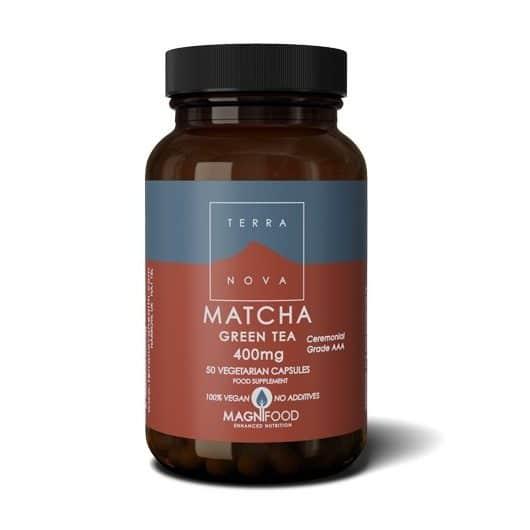 Suplemento matcha-green-tea-400mg-50-capsulas