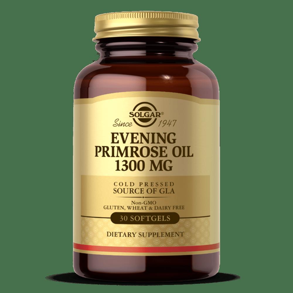 Suplemento solgar oleo de onagra 1300 mg