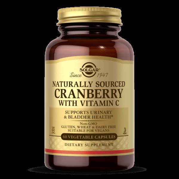 suplemento NATURAL CRANBERRY Arando vermelho Vitamina C