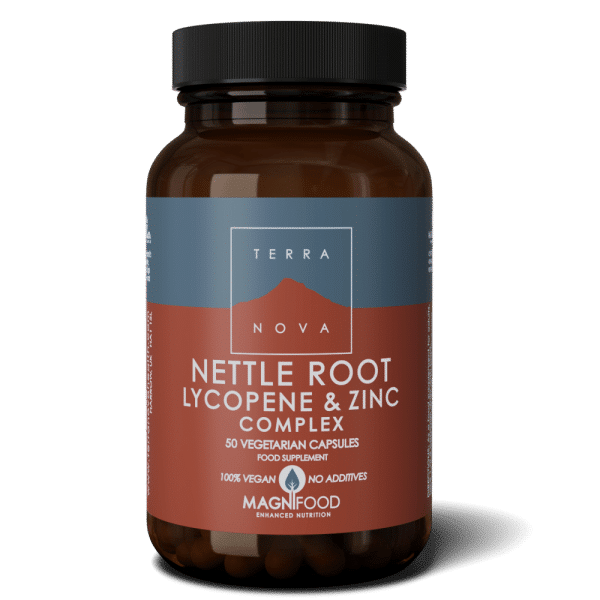 Suplemento NETTLE-ROOT-LYCOPENE-ZINC-COMPLEX-50-wiz