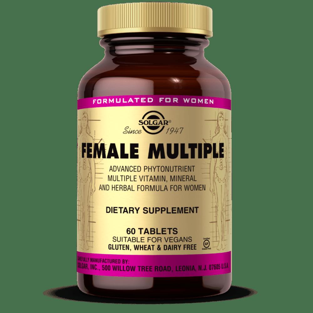Suplemento solgar Formula avançada para mulheres 60 comprimidos