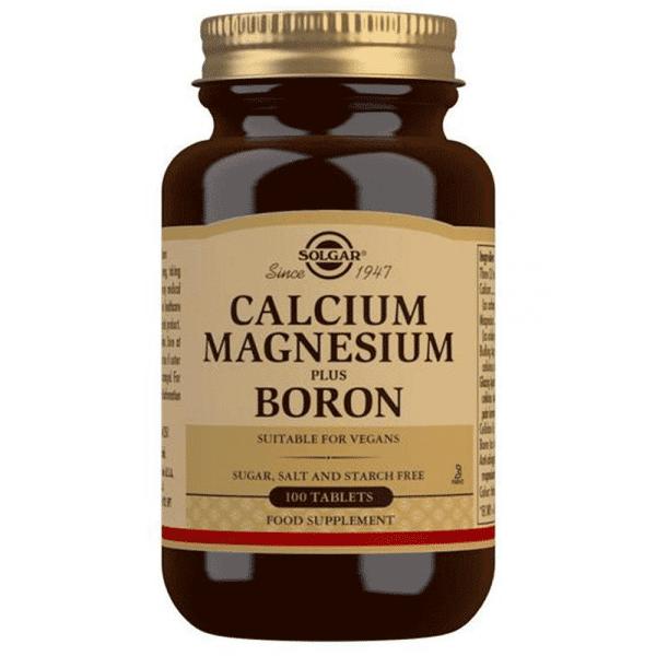 suplemento solgar calcio-magnesio-e-boro