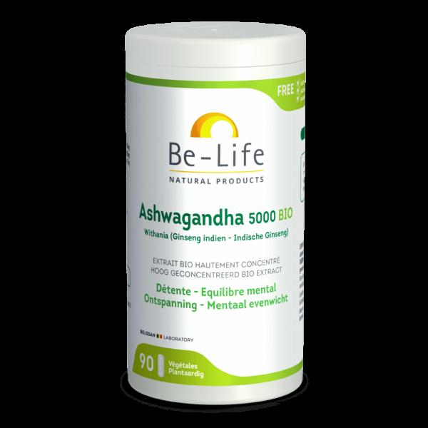 suplemento be life_Ashwagandha_5000