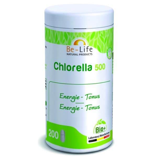 suplemento be life_CHLORELLA-500_200-TABS