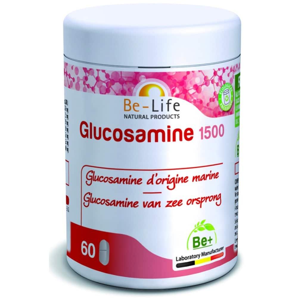 suplemento be life_GLUCOSAMINE-1500_60-TABS