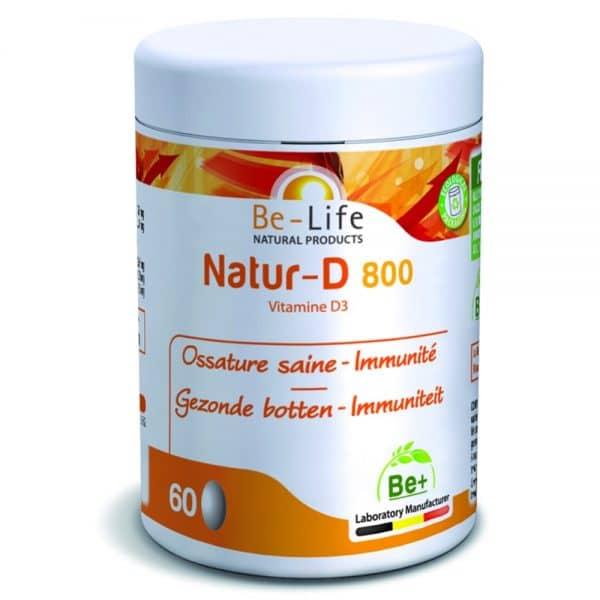 suplemento be life_NATUR-D-800_60-CAPS
