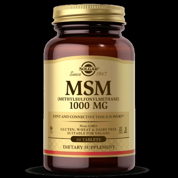 MSM 1000 MG suplemento solgar