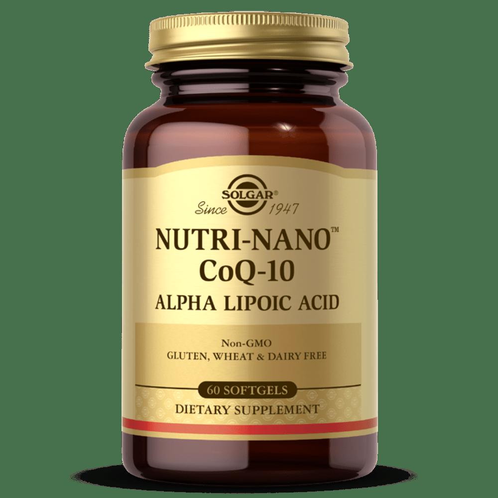Nutri-Nano CoQ-10 e Ácido Alfa-Lipóico Suplemento solgar