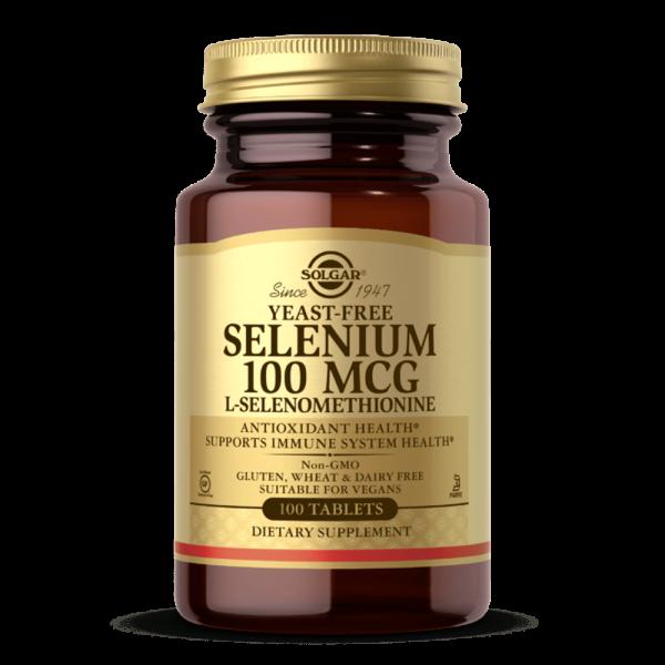 Selénio 100 MCG suplemento solgar