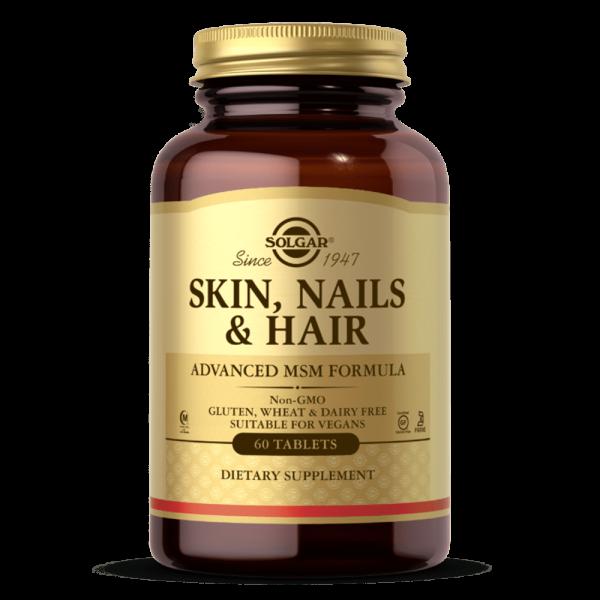 Skin Nails & Hair 60 comp Suplemento Solgar