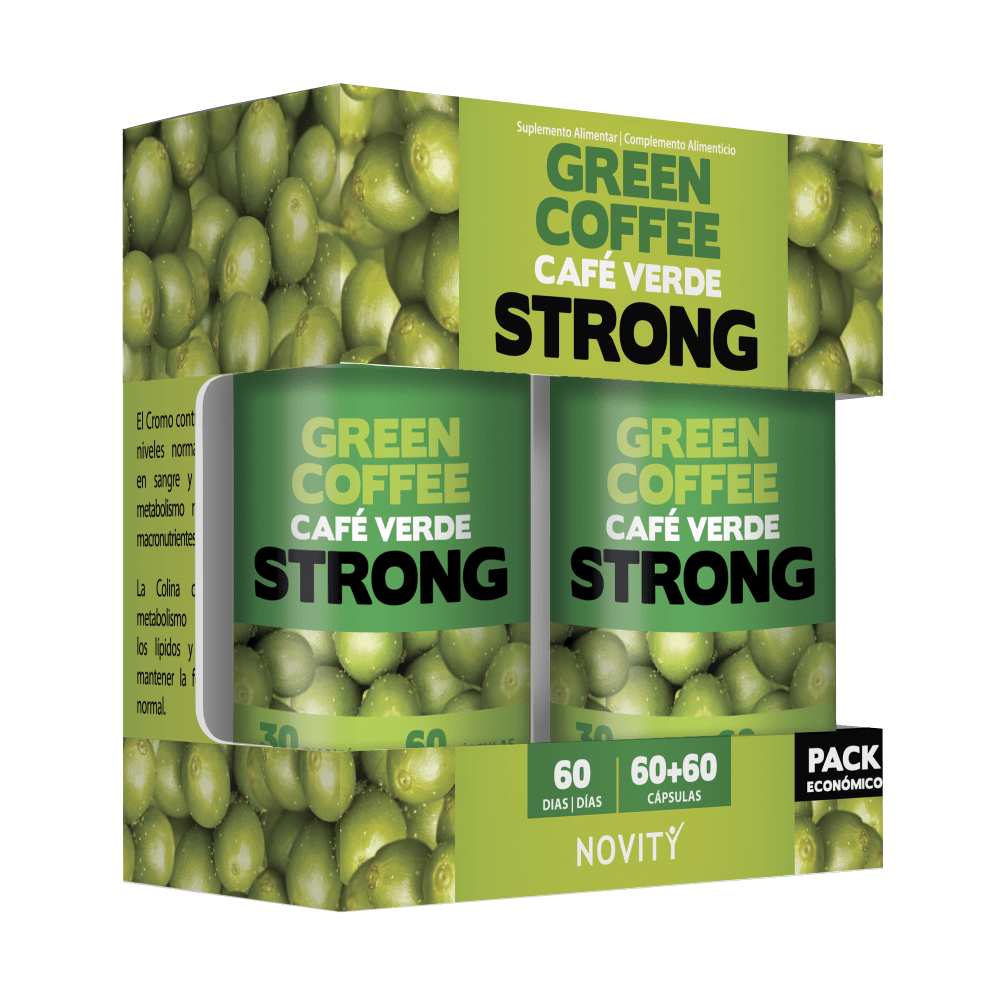 Café Verde Strong - Pack Económico