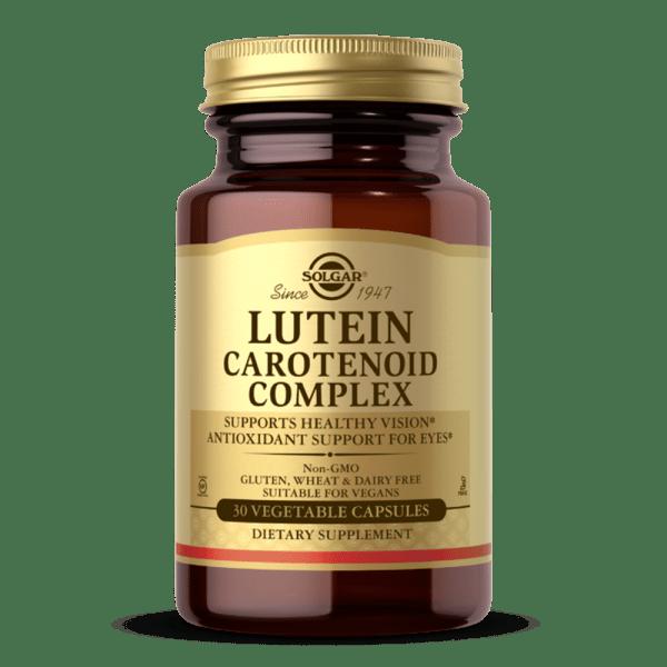 Complexo de luteína e carotenoides suplemento solgar