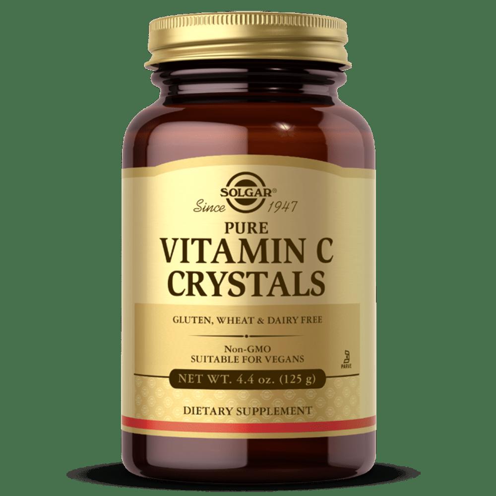 Vitamina C em pó suplemento solgar