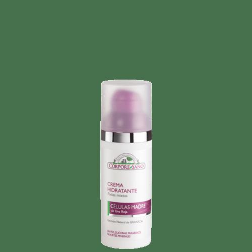 creme hidratante peles mistas uva vermelha corpore sano