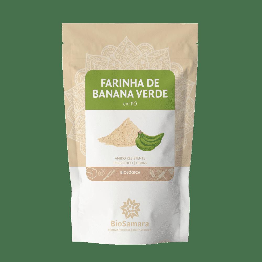 farinha banana verde bio biosamara