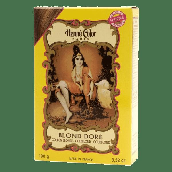 henne blond doré po