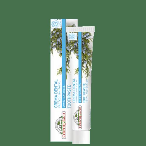 pasta dentifrica protecao total corpore sano