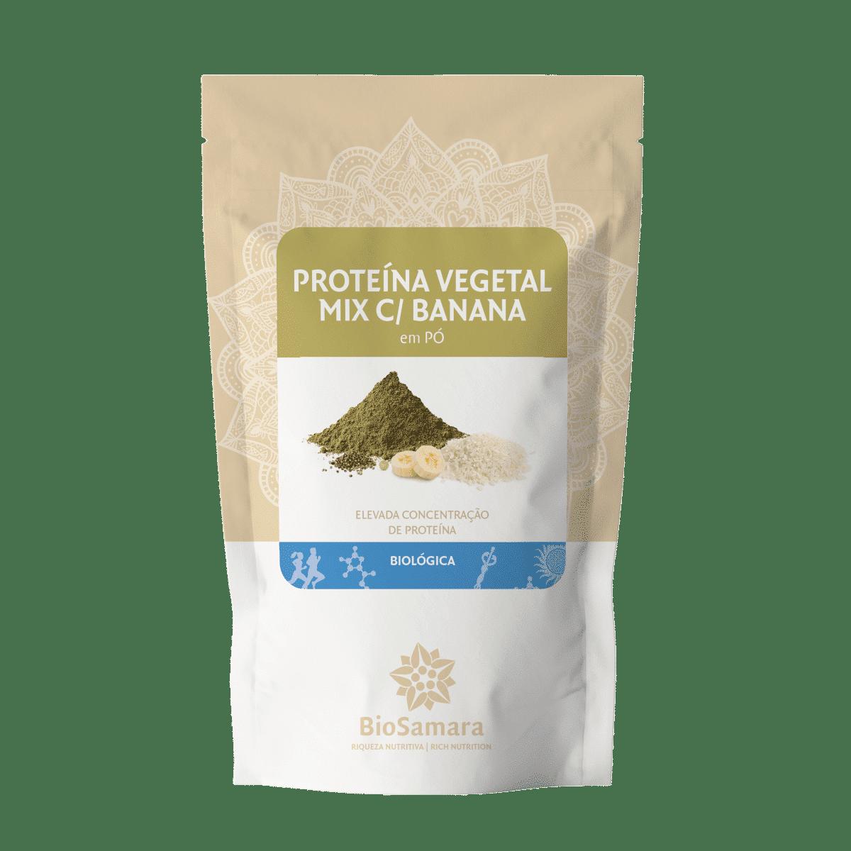 proteina vegetal mix banana po bio biosamara