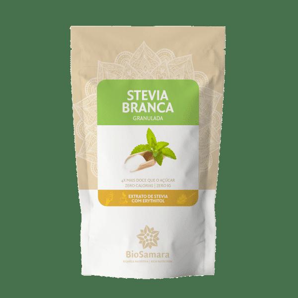 stevia branca granulada biosamara