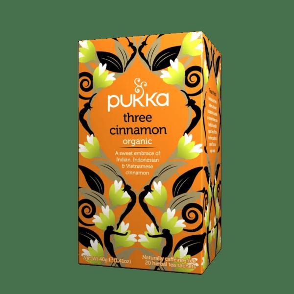 three cinnamon pukka