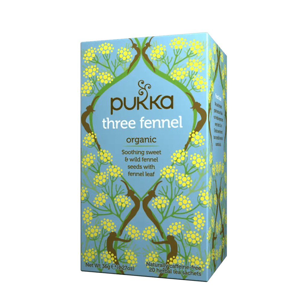 three fennel pukka