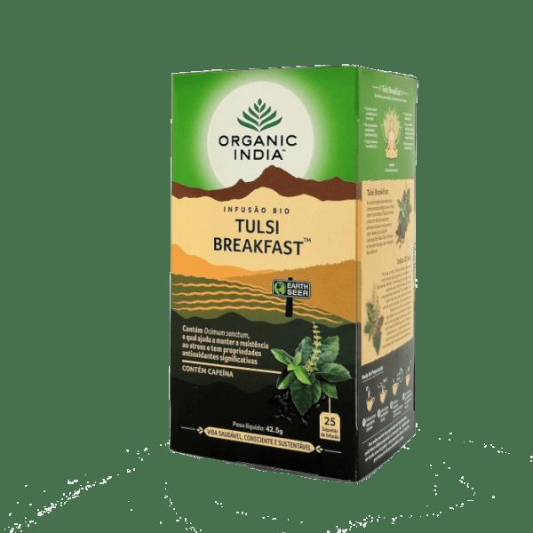 tulsi breakfast 25saq organic india