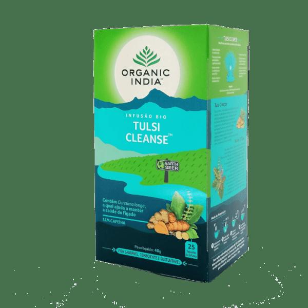 tulsi cleanse 25saq organic india