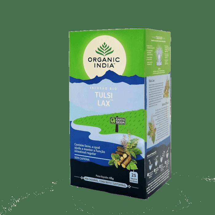 tulsi lax 25saq organic india