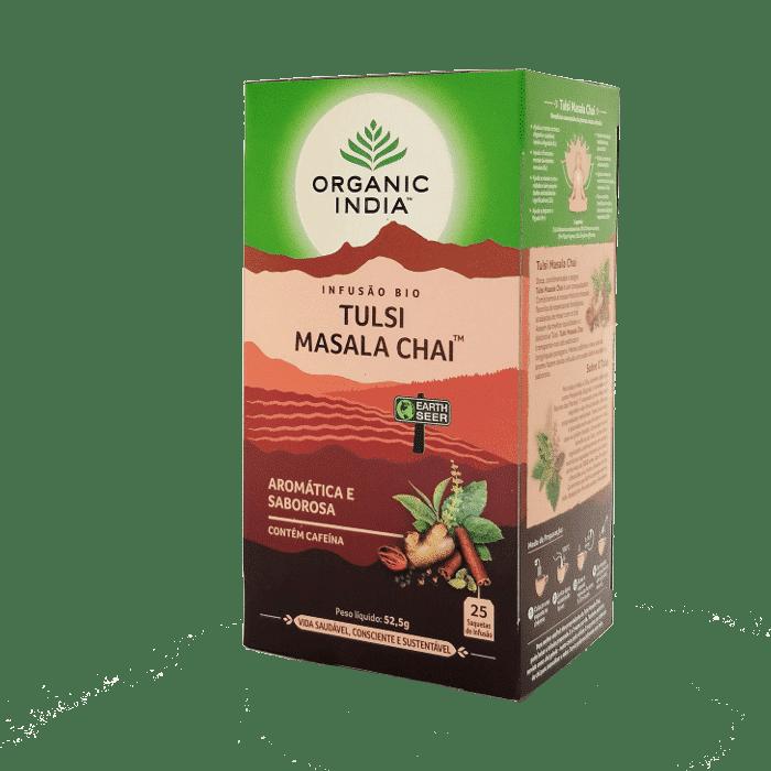 tulsi masala chai 25saq organic india