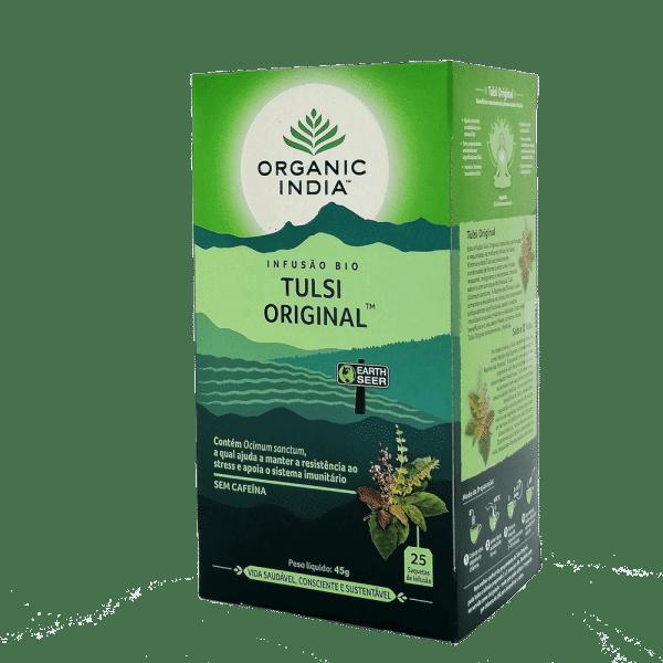 tulsi original 25saq organic india