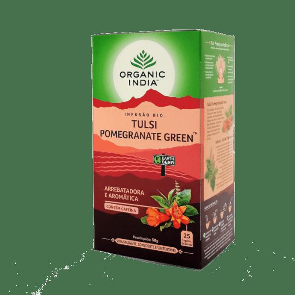 tulsi pomegranate 25saq organic india
