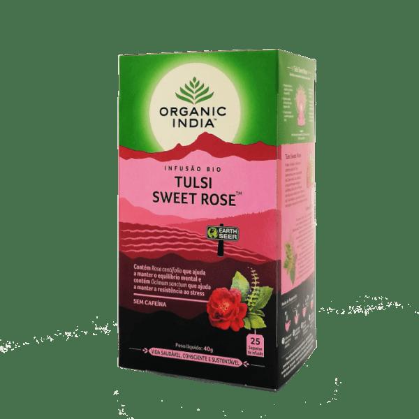 tulsi sweet rose 25saq organic india