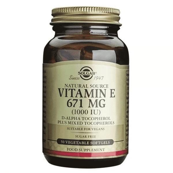 vitamina-e-671-mg-1000-ui-50-capsulas-vegetais-suplemento-solgar