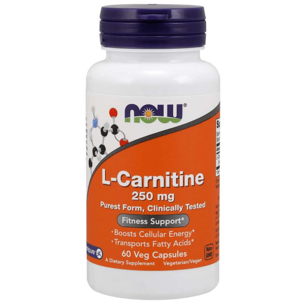 L-carnitine 250mg now