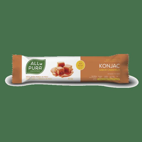 barrita konjac Caramelo allpura