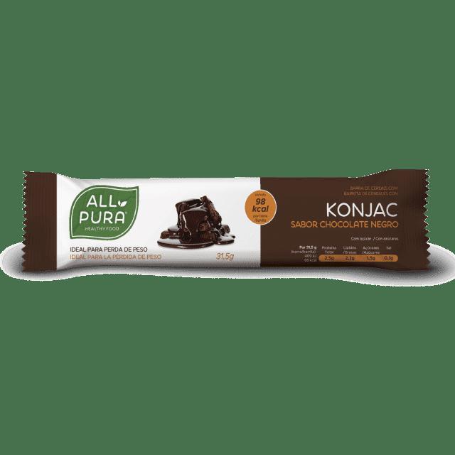barrita konjac chocolate negro