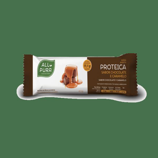 barrita proteica chocolate e caramelo allpura