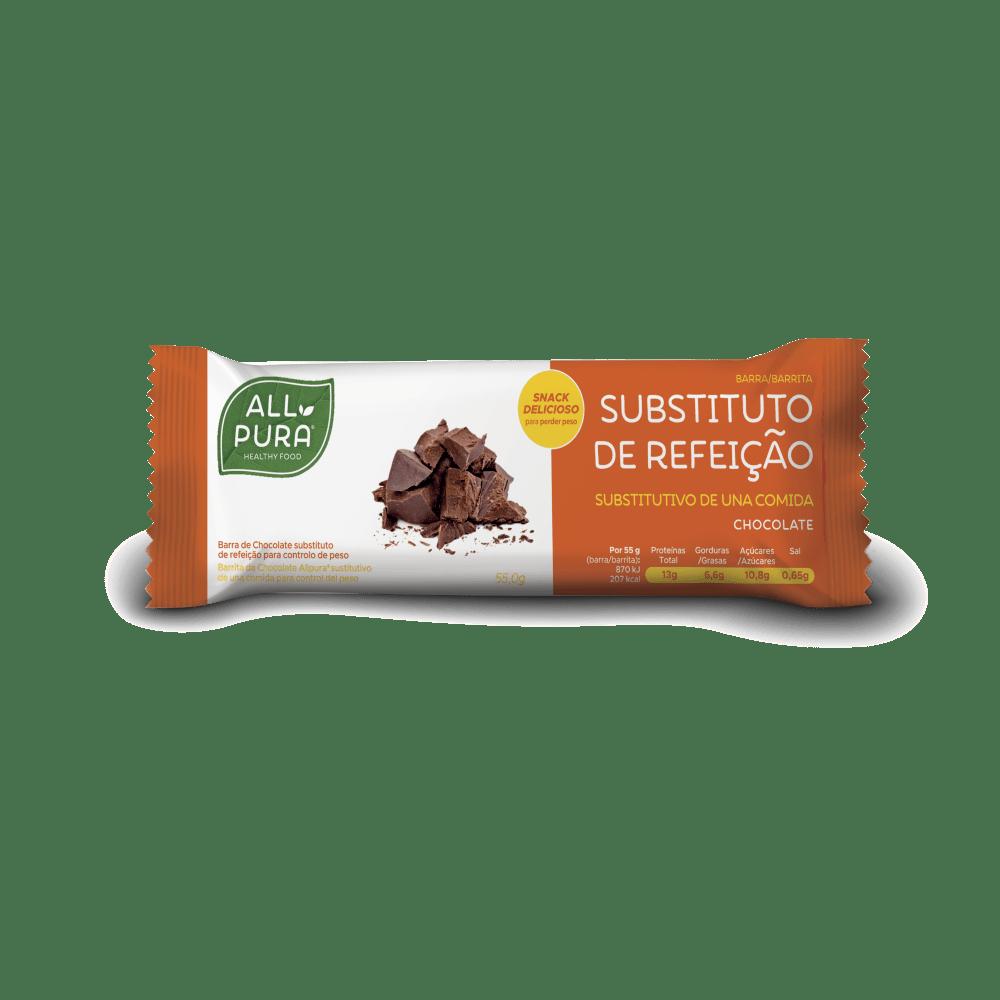 barrita substituto refeição chocolate allpura