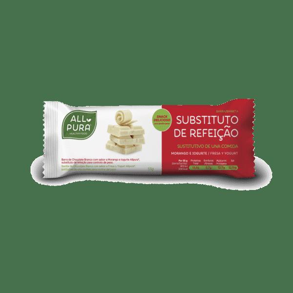 barrita substituto refeição morango e iogurte allpura